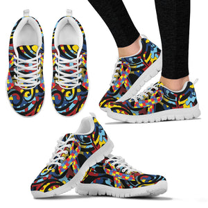 Autism Awareness Ribbon Running Shoes EXP - Love Family & Home