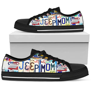 Jeep Mom Low Top Shoes - Love Family & Home