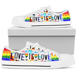 Love Is Love - Low Top - Love Family & Home