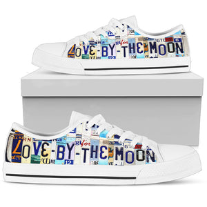 Love By The Moon Low Top - Love Family & Home