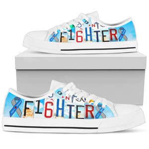 Diabetes Fighter In Low Top Shoes - Love Family & Home