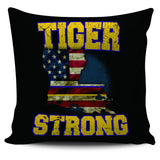 "Tiger Strong 18"" Pillow Cover"
