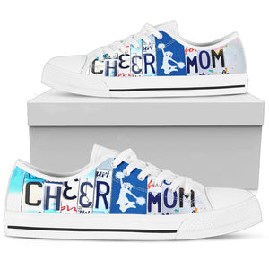 Cheer Mom Low Top Shoes - Love Family & Home