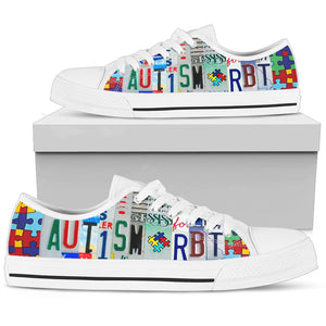 Autism RBT Low Top Shoes - Love Family & Home