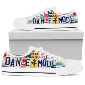 Dance Mode Low Top Shoes - Love Family & Home