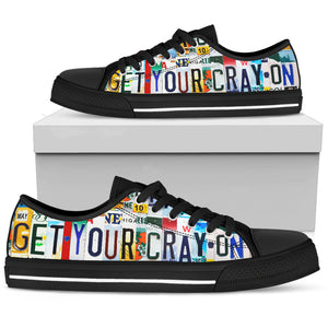 Get Your Cray On Low Top Shoes - Love Family & Home