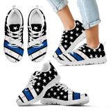 Thin Blue Line Sneakers EXP - Spicy Prints