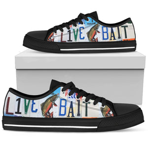 Live Bait Low Top Shoes - Love Family & Home