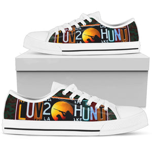 Luv 2 Hunt Low Top Shoes - Love Family & Home