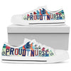 Proud Nurse Women's Low-Top Shoes - Love Family & Home