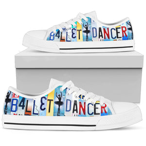 Ballet Dancer  Low Top Shoes - Love Family & Home