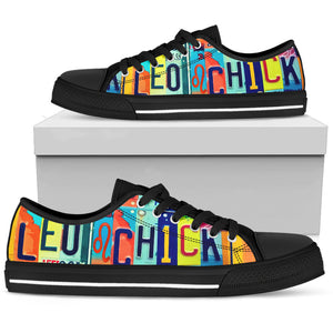 Leo Chick Low Top - Love Family & Home