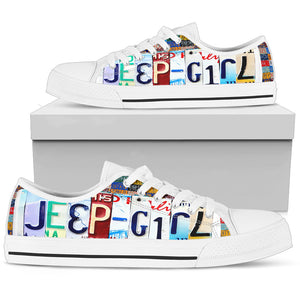 Jeep Girl Women's Low Top Shoes - Love Family & Home