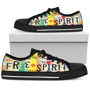 Free Spirit Low Top Shoes - Love Family & Home