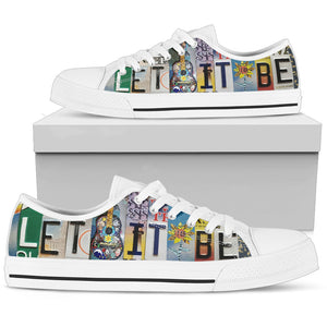 Let It Be Low Top Shoes - Love Family & Home