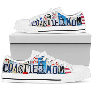 Coastie Mom Low Top Shoes - Love Family & Home