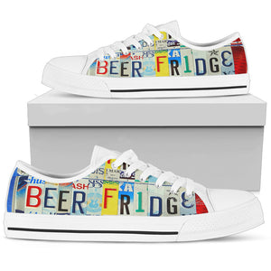 Beer Fridge Low Top Shoes - Love Family & Home