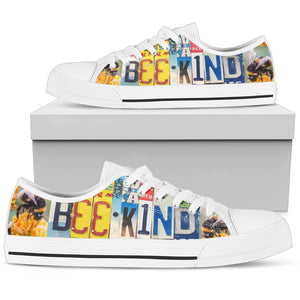 Bee Kind Low Top - Love Family & Home