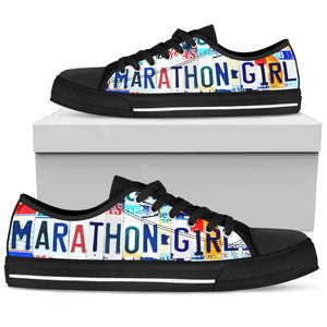 Marathon Girl Low Top Shoes - Love Family & Home