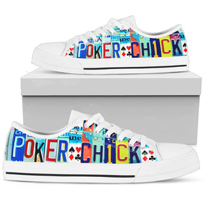 Poker Chick Low Top - Love Family & Home