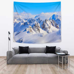 Image of TAPESTRY MOUNTAINS BLUE SKY - Love Family & Home