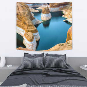 Image of TAPESTRY ROCK AND WATER - Love Family & Home