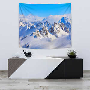 TAPESTRY MOUNTAINS BLUE SKY - Love Family & Home