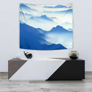 Image of TAPESTRY BLUE MOUNTAIN - Love Family & Home