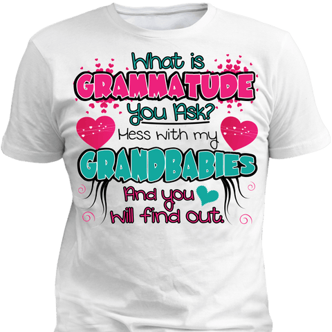 Image of Grammatude T-Shirt & Apparel - Love Family & Home