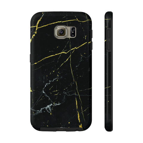 Image of Black Marble iPhone Case, Mate Tough Phone Cases,  iPhone 11 case, iPhone 11 Pro Max case - Love Family & Home