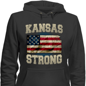 Kansas Strong Limited Edition Print T-Shirt & Apparel - Love Family & Home