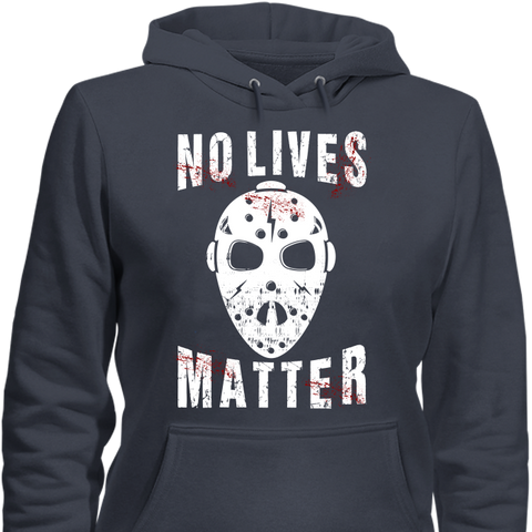 Image of No Lives Matter Jason Mask Halloween Special Edition T-Shirt & Apparel - Love Family & Home