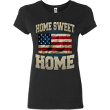 Home Sweet Home Kansas Limited Edition Print T-Shirt & Apparel