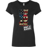 New York Born & Raised Limited Edition Print T-Shirt & Apparel