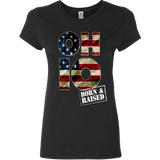 Ohio O-H-I-O Born & Raised T-Shirt & Apparel