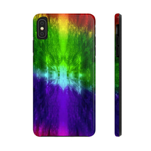 Tie Dye iPhone Case, Case Mate Tough iPhone Cases, iPhone 11 case, iPhone 11 Pro Max case - Love Family & Home