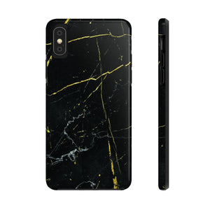 Black Marble iPhone Case, Mate Tough Phone Cases,  iPhone 11 case, iPhone 11 Pro Max case - Love Family & Home