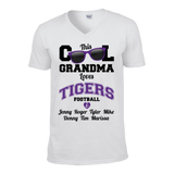 This Cool Grandma Loves Tigers Football & Personlized Names Apparel - Love Family & Home  - 5