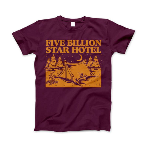 5 Billion Star Hotel Shirt For Camping Hiking And Outdoor Enthusiast - Love Family & Home  - 4
