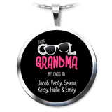 This Cool Grandma Belongs To Personalized Necklace - Love Family & Home  - 1