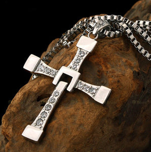 The Fast And The Furious Inspired Cross Pendant Necklace - Love Family & Home