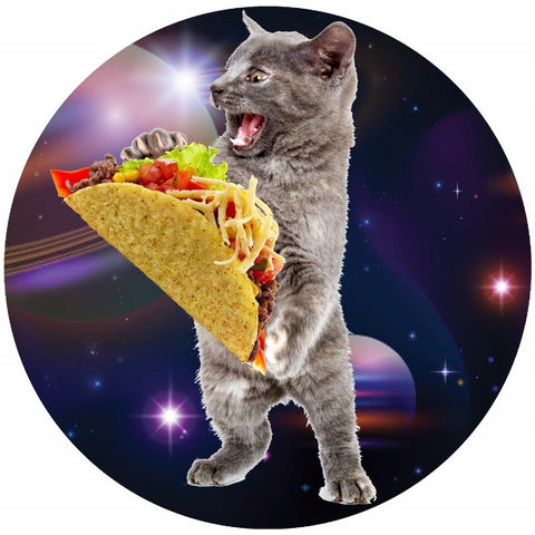Image of Taco Space Cat Collectible Bangle - Love Family & Home