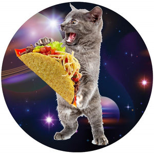Taco Space Cat Collectible Bangle - Love Family & Home