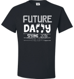 Future Daddy Shirt Personalized With Date Become A Father Apparel - Love Family & Home  - 2
