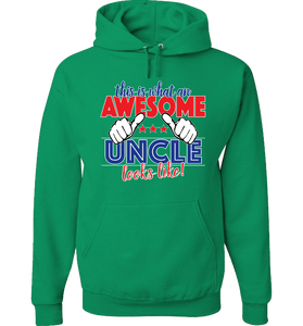 This Is What An Awesome Uncle Looks Like! Apparel - Love Family & Home