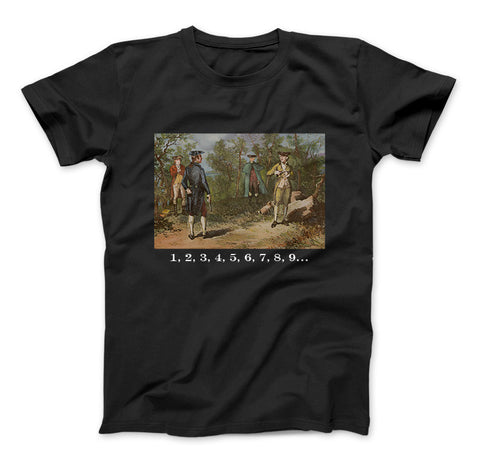 Alexander Hamilton and Aaron Burr Deadly Duel Shirt Hamilton T-Shirt For Fans