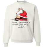 Bad Santa Nice List T-Shirt & Apparel - Love Family & Home  - 3