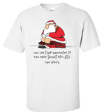 Bad Santa Nice List T-Shirt & Apparel - Love Family & Home  - 1