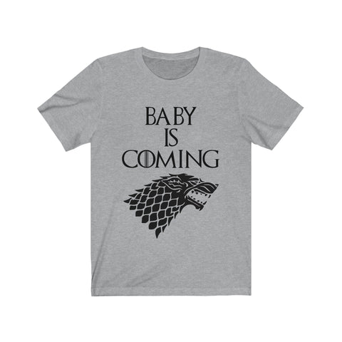 Image of Baby Is Coming T-Shirt Baby Announcement Shirt - Love Family & Home