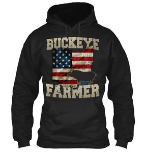 Buckeye Hog FarmerT-Shirt & Apparel - Love Family & Home